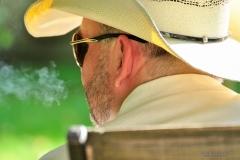 Cowboy Smoking